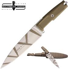 tactical kitchen knives extrema ratio psycho 19 desert camo 7 9 n690 fixed blade tactical