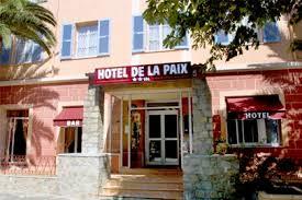 chambres d hotes corte hotel corte hotel de la paix hotel centre corse corte accueil