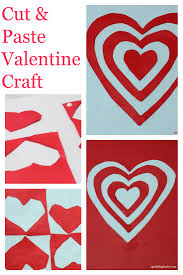 valentines day activities cut and paste art sparklingbuds