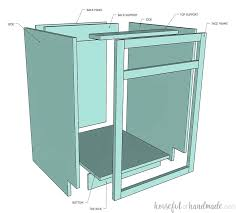 how to cabinets how to build cabinets houseful of handmade