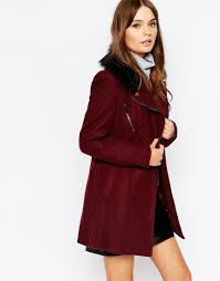biker coat new look biker jacket with faux fur collar vegan fashion