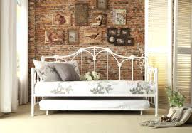 Iron Daybed With Trundle White Iron Daybed With Trundle U2013 Heartland Aviation Com