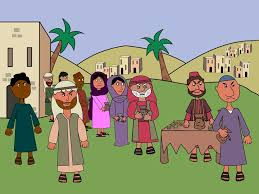 free bible images preschool version of the story of zacchaeus