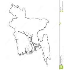 Madagascar Blank Map by Bangladesh Outline Map Royalty Free Stock Image Image 4577116