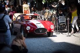 1954 maserati a6gcs concorso d u0027eleganza villa d u0027este 2016 photos winners