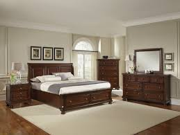 Bedroom Set With Media Chest All American Reflections Sleigh Storage Bedroom Set In Dark Cherry