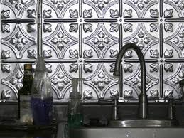 Kitchen With Stainless Steel Backsplash Kitchen Backsplash Tile Ideas Hgtv