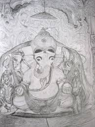 ganesha sketches shree siddhivinayak