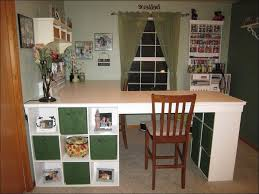 Craft Table Desk Kitchen Craft Desk Storage Ikea Light Green Wall Paint Color