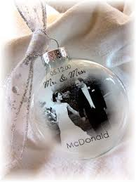 our first christmas ornament married just by peartreepersonal