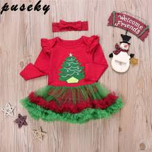buy baby xmas romper tutu and get free shipping on aliexpress com