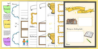 leavers yearbook leavers yearbook template pack year 6 leavers book