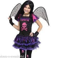 Fallen Angel Halloween Costumes Childs Girls Fallen Angel Fancy Dress Party Halloween Costume 8 10