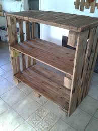 Wood Storage Shelf Designs by Best 25 Pallet Shelves Ideas On Pinterest Pallet Shelving