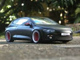 volkswagen scirocco r modified volkswagen tuning diecast alldiecast co uk