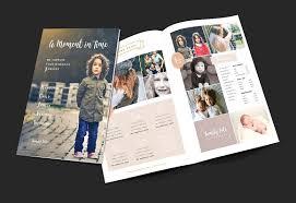 family photographer brochure brochure templates creative market