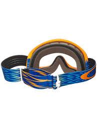 oakley motocross goggles oakley shockwave orange blue clear o frame mx goggle oakley