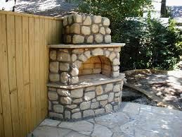diy outdoor fireplace kits home fireplaces firepits install