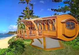 modular housing inhabitat green design innovation net zero arc house shows how arches make tiny spaces feel bigger