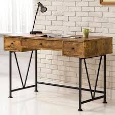 Writing Desk With Drawer by Rustic Home Office Furniture Store Shop The Best Deals For Oct