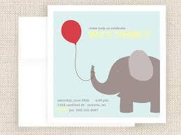 elephant birthday invitations badbrya com