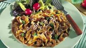 beef pasta and green beans recipe bettycrocker com