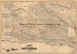 Santa Barbara Map Welcome To Historynyc Historical Maps Poster Books And Custom