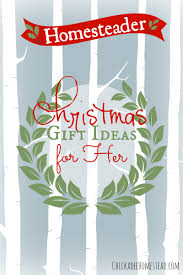 homesteader christmas gifts for her