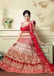 bridal wear designer indian bridal ghagra online shopping muritius white