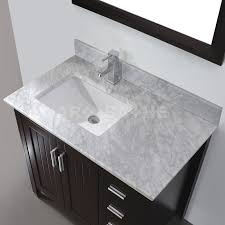 Vanity Bathroom Tops Bathe Jackie 36 Chai Bathroom Vanity Solid Hardwood Vanity
