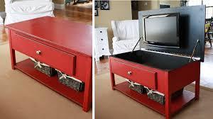 meuble tv caché 5 astuces pour cacher sa tv visible table basse et tv