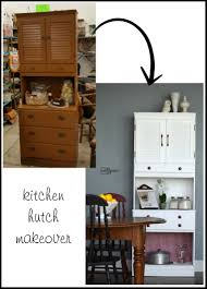 kitchen hutch makeover remake my repurposed life