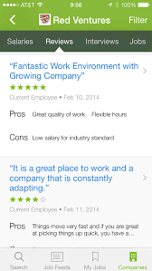 glass door company reviews track your competition five apps for gathering business