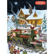 whistle stop chocolate 2017 advent calendar 871241001398