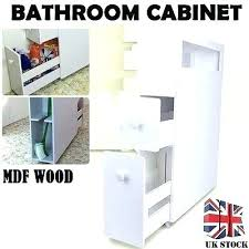 Slim Bathroom Storage Slim Storage Tower Slim Bathroom Storage Slim Bathroom Cabinet