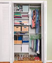 How To Make Closet Shelves by Inspirational Closets Real Simple