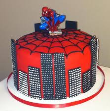 spiderman fondant cake decorating best cake 2017