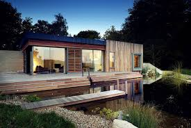 eco house design plans uk tranquil forest house with a sustainable modern design in the uk
