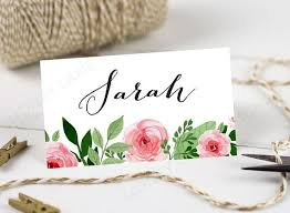 printable name place cards personalised printable wedding place cards name cards