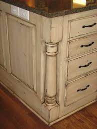 distressed painted kitchen cabinets the magic brush inc cabinet recolor how to pinterest