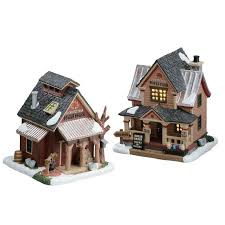 41 best lemax images on cabin figurines and