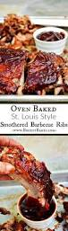 oven baked barbecue pork ribs breezy bakes