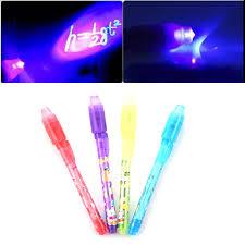 uv marker and light 1pcs magic 2 in 1 uv black light combo creative stationery marker