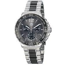 ceramic bracelet images Shop tag heuer men 39 s 39 formula 1 39 grey dial steel ceramic bracelet jpg