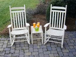White Rocking Chair Outdoor by Best Outdoor Rocking Chair Sets U2014 Jen U0026 Joes Design