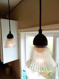 Cheap Pendant Lights by Diy Update Your Kitchen Lighting On The Cheap Revamp Homegoods