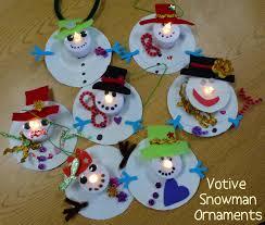 christmas crafts kids ornament snowman dma homes 85544