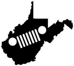 jeep cj grill logo west virginia jeep grill decal cj tj jk yj wrangler ebay