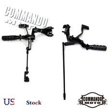 Footboard For Foot Drop Motorcycle Foot Pegs U0026 Pedal Pads For Harley Davidson Iron 883 Ebay