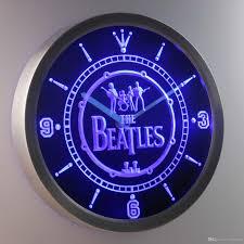 nc0145 the beatles luminova neon sign bar beer decor led wall